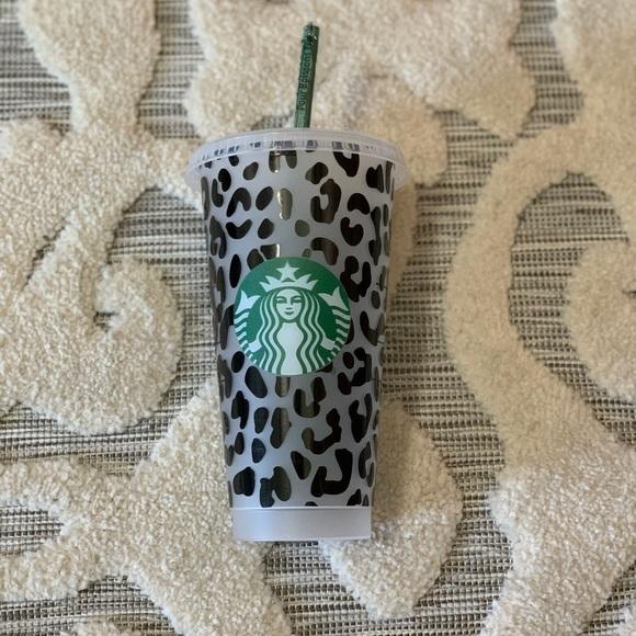 Starbucks cheetah tumbler